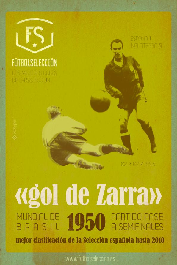 Goles míticos de la Selección española: El gol de Zarra - FÚTBOLSELECCIÓN