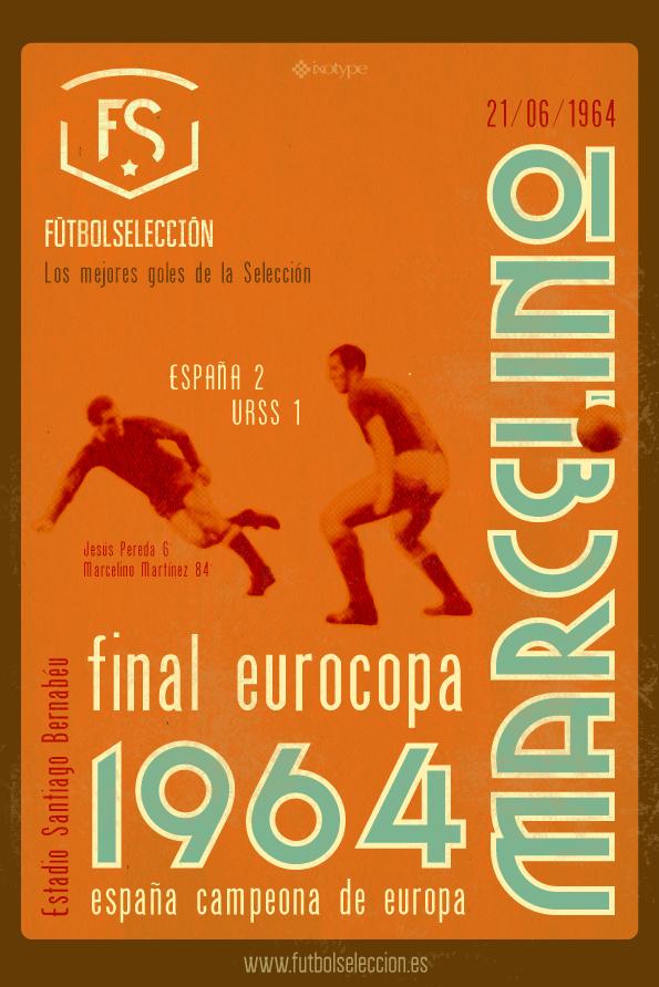 Goles míticos de la Selección española: Gol de Marcelino, Eurocopa 1964 - FÚTBOLSELECCIÓN