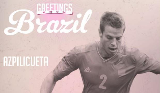 Azpilicueta - Jugadores del Mundial 2014 - FÚTBOLSELECCIÓN