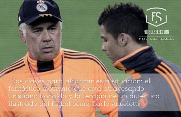 Carlo-y-Cristiano_los-mejores-del-Madrid-Futbol-Seleccion