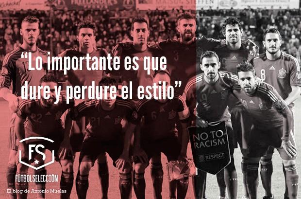 Selección española: Consolidar el estilo