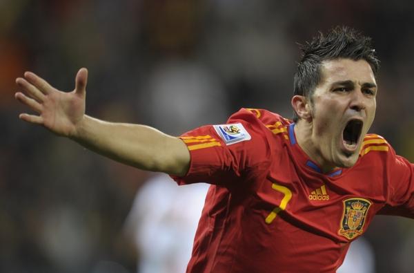 David Villa - Jugadores del Mundial 2014 - FÚTBOLSELECCIÓN