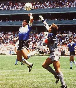Diego Armando Maradona - La Mano de Dios - FUTBOLSELECCION