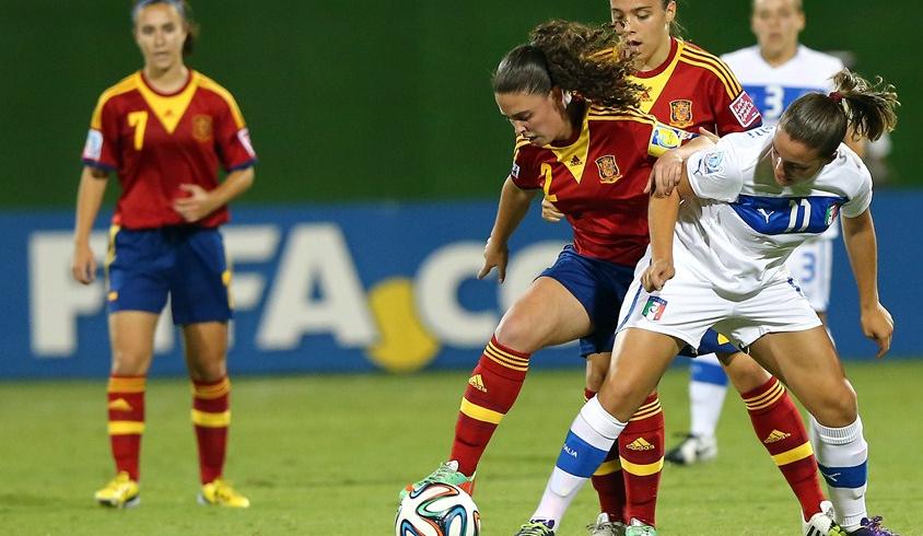 El fútbol femenino español llega a lo más alto - FÚTBOLSELECCIÓN
