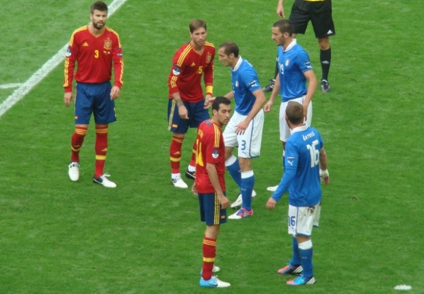 España vs Italia - FÚTBOLSELECCIÓN