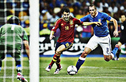 España-Italia gol de Cesc - Futbol Seleccion
