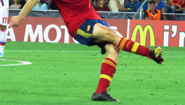 Espinilleras inteligentes para la Selección española - FÚTBOLSELECCIÓN