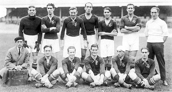 Sabes cuándo jugó la Selección española su primer partido - FÚTBOLSELECCIÓN