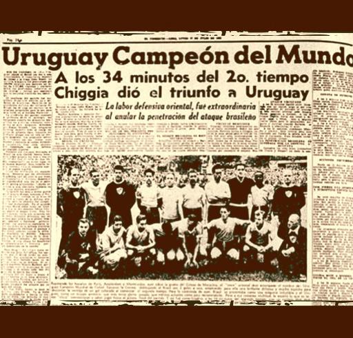 Futbol Seleccion - Uruguay y el maracanazo