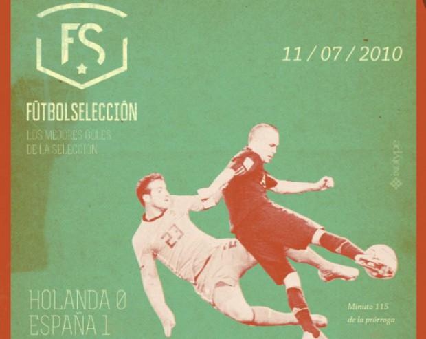 Los mejores goles de la Selección - Andrés Iniesta - Final del Mundial de Sudáfrica 2010 - FÚTBOLSELECCIÓN
