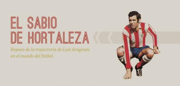 Infografía Luis Aragonés - FÚTBOLSELECCIÓN