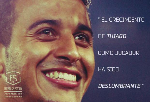 La consolidación de Thiago como jugador - FÚTBOLSELECCIÓN