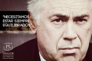 El equilibrio de Ancelotti - Antonio Muelas - FÚTBOLSELECCIÓN