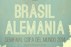 Semifinal Brasil vs Alemania