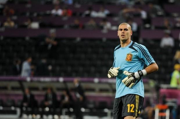 Valdés, la sombra fiel de Casillas - FÚTBOLSELECCIÓN