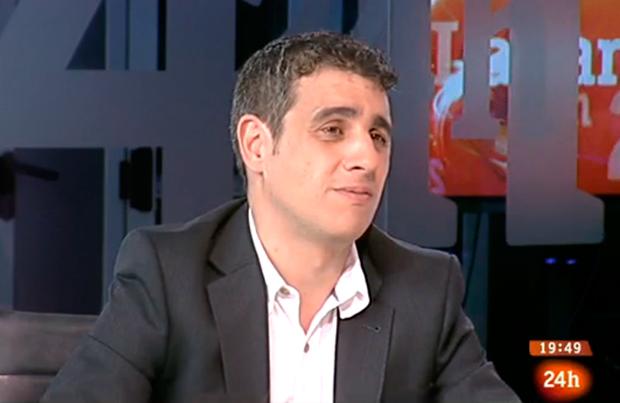 Antonio Muelas en RTVE 24 Horas - FUTBOLSELECCION