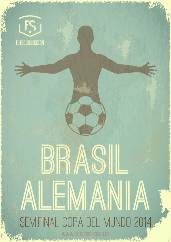 Brasil vs Alemania- FÚTBOLSELECCIÓN