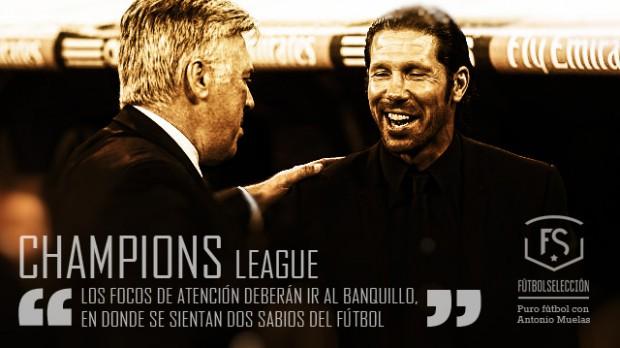 Carlo Ancelotti - Diego Pablo Simeone - Champions League - FÚTBOLSELECCIÓN