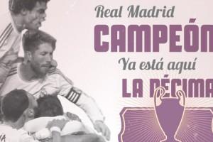 Real Madrid Campeón de Europa - Champions League - FÚTBOLSELECCIÓN