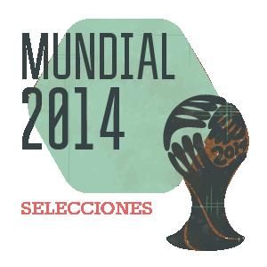 Selecciones del Mundial 2014 en Brasil - FÚTBOLSELECCIÓN