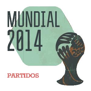 Partidos del Mundial 2014 en Brasil - Fútbol Selección