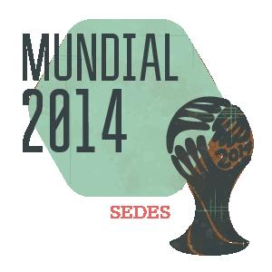 Sedes del Mundial 2014 en Brasil - Fútbol Selección
