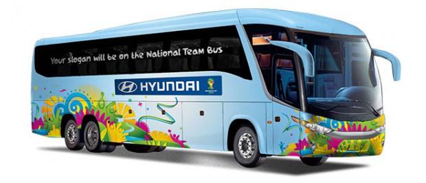 Autobuses del Mundial de Brasil - FÚTBOLSELECCIÓN