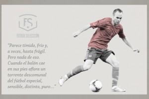 Andrés Iniesta - Jugador de la semana - FÚTBOLSELECCIÓN