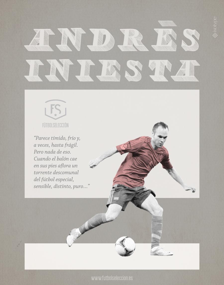 Andrés Iniesta - FÚTBOLSELECCIÓN