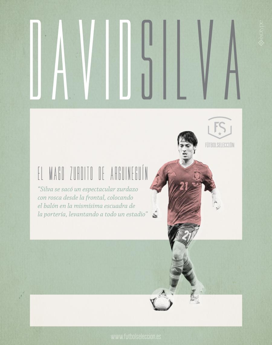 David Silva - FÚTBOLSELECCIÓN