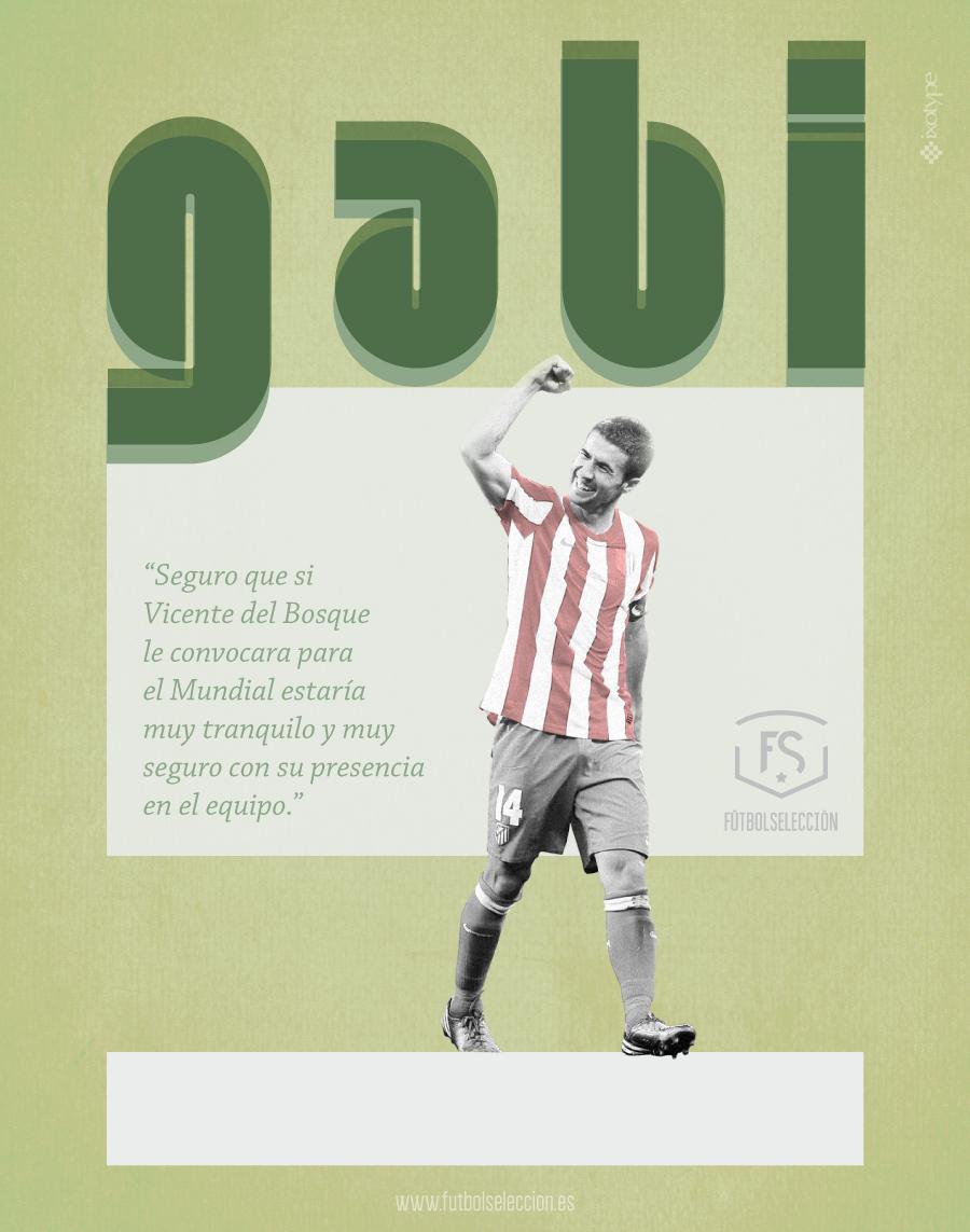 Gabi - FÚTBOLSELECCIÓN