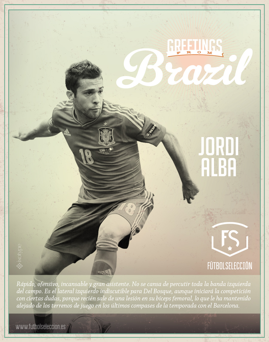 Jordi Alba - FÚTBOLSELECCIÓN