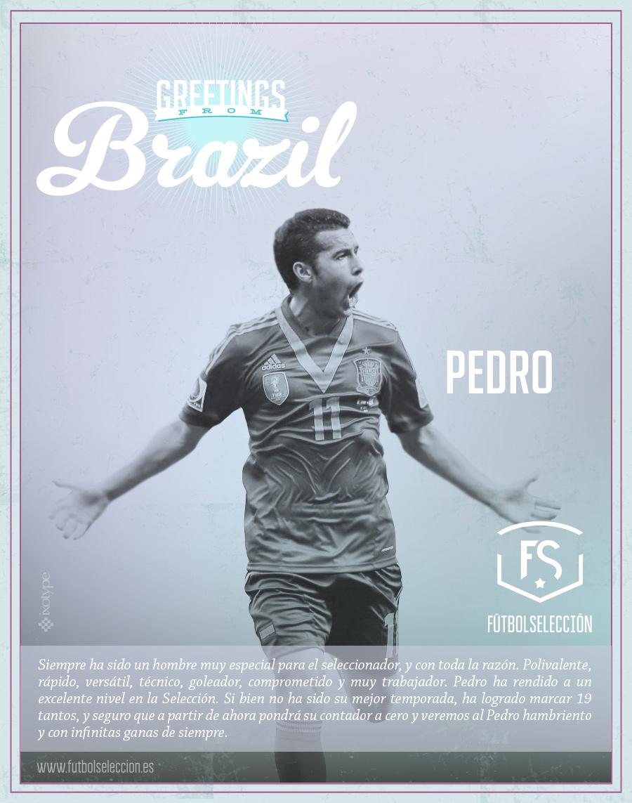 Pedro - FÚTBOLSELECCIÓN