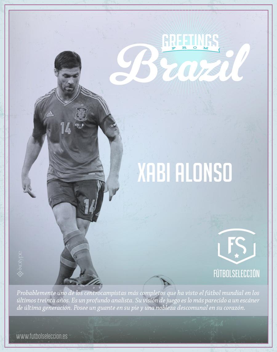 Xabi Alonso - FÚTBOLSELECCIÓN