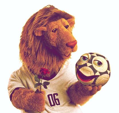 Las mascotas de los Mundiales de Fútbol - Goleo y Pille - Alemania 2006 - FÚTBOLSELECCIÓN
