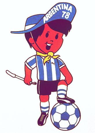 Las mascotas de los Mundiales de Fútbol - Gauchito Argentina 78 - FÚTBOLSELECCIÓN