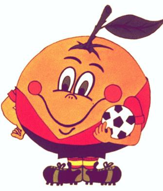 Las mascotas de los Mundiales de Fútbol - Naranjito España 82 - FÚTBOLSELECCIÓN