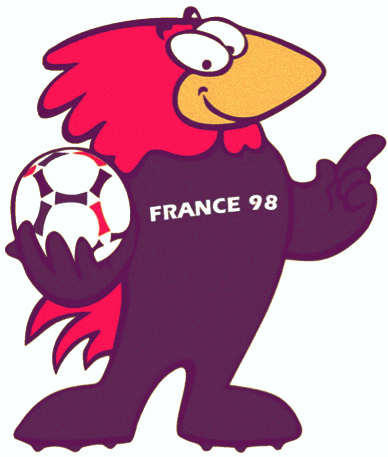 Las mascotas de los Mundiales de Fútbol - Footix Francia 98 - FÚTBOLSELECCIÓN