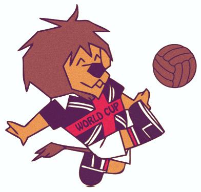 Las mascotas de los Mundiales - Willie The Lion - FÚTBOLSELECCIÓN