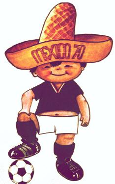 Las mascotas de los Mundiales - Juanito México 1970 - FÚTBOLSELECCIÓN