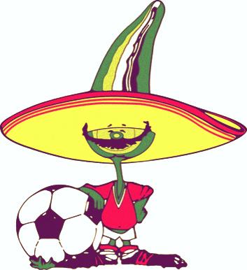 Las mascotas de los Mundiales de Fútbol - Pique México 86 - FÚTBOLSELECCIÓN
