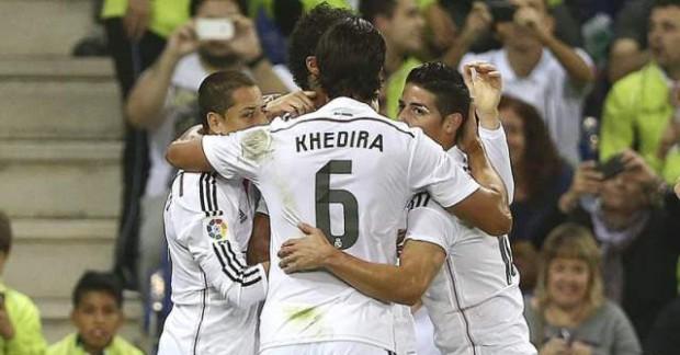 El Real Madrid gana al Cornellá