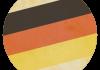 Selección de fútbol de Alemania - Bandera - Mundial 2014 Brasil - FÚTBOLSELECCIÓN