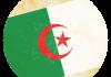 Selección de fútbol de Argelia - Bandera - Mundial 2014 Brasil - FÚTBOLSELECCIÓN