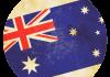 Selección de fútbol de Australia - Bandera - Mundial 2014 Brasil - FÚTBOLSELECCIÓN