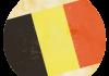 Selección de fútbol de Bélgica - Bandera - Mundial 2014 Brasil - FÚTBOLSELECCIÓN