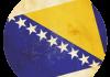 Selección de fútbol de Bosnia y Herzegovina - Bandera - Mundial 2014 Brasil - FÚTBOLSELECCIÓN