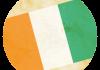Selección de fútbol de Costa de Marfil - Bandera - Mundial 2014 Brasil - FÚTBOLSELECCIÓN