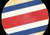 Selección de fútbol de Costa Rica - Bandera - Mundial 2014 Brasil - FÚTBOLSELECCIÓN