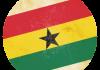 Selección de fútbol de Ghana - Bandera - Mundial 2014 Brasil - FÚTBOLSELECCIÓN